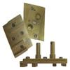 Pearl Abrasive Complete Diamond Segmented Pad w/Holder Hexplate Attachment HEX4SEG-MFD