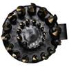 """Drill America 29 pc 1/16"""" - 1/2"""" x 64 ths HSS Black & Gold Drill Bit Set"""