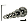 CMT Rabbeting Router Bit Set replacement bearings