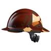 Lift Safety DAX Fifty 50 Fiber Resin Full Brim Hard Hat Desert Camo