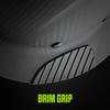 Brim grip, exclusive design provides a secure feel
