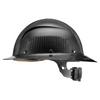 Lift Safety DAX Carbon Fiber Full Brim Hard Hat