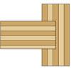 CMT 3 pc Plywood Groove Router Bit Set