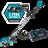 Makita 36V (18V X2) LXT® Lithium‑Ion Brushless Cordless String Trimmer Kit with 4 Batteries (5.0Ah)