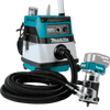 Makita 18V LXT® Li‑Ion Compact Brushless Cordless Router, Tool Only (vacuum not included)