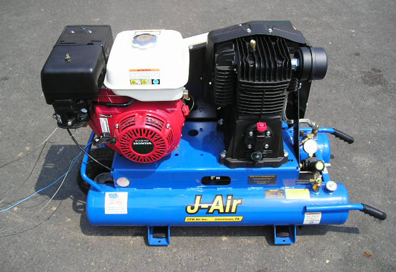 Honda Engines GX340 Series General Purpose Straight Shaft Engine 340 ccm, 3  31/64 x 1, Tapped 3/8 24 UNF GX340UTIQA2