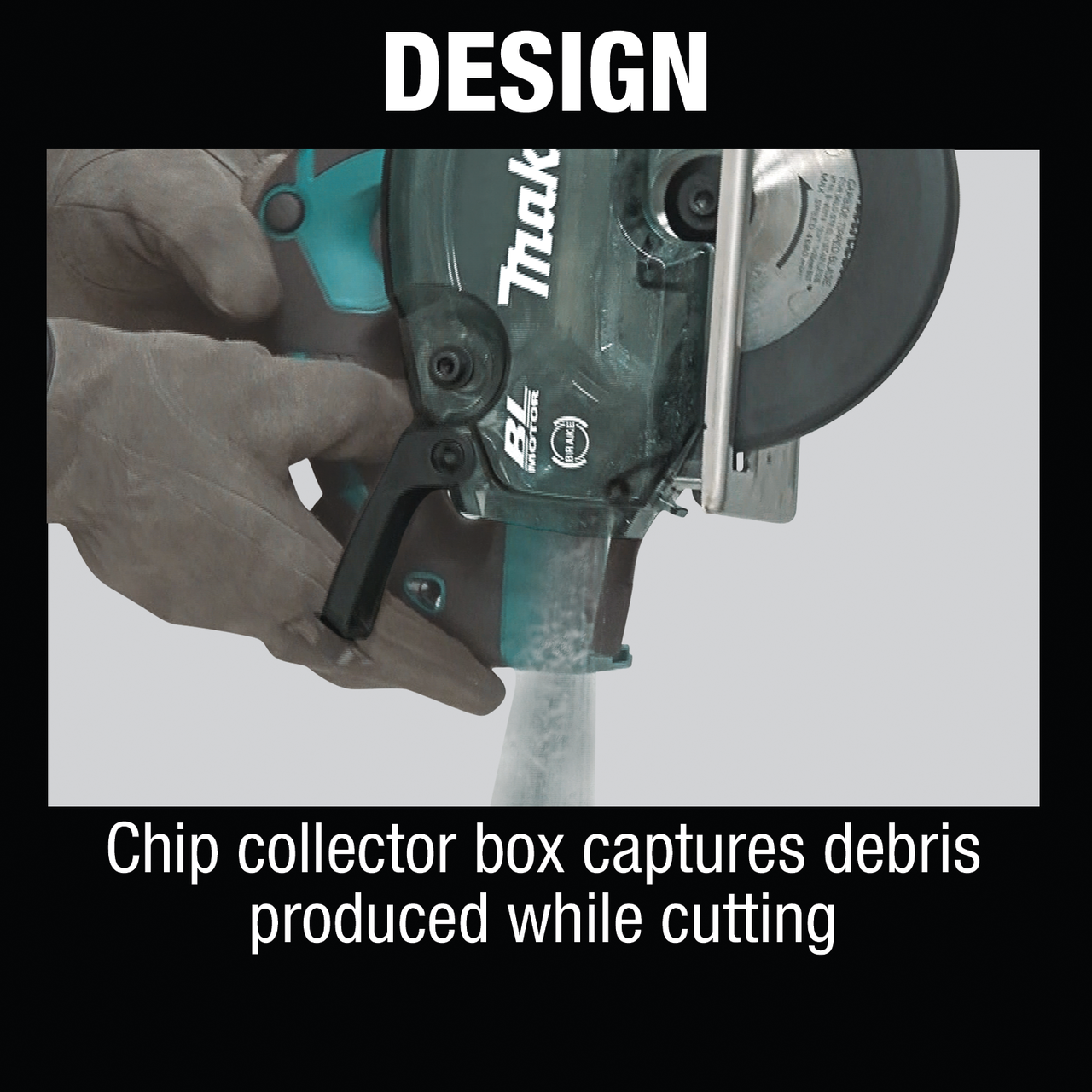 Tool Only Cordless Metal Cutting Saw Makita 18V LXT Li-Ion Brushless 5-7//8 in