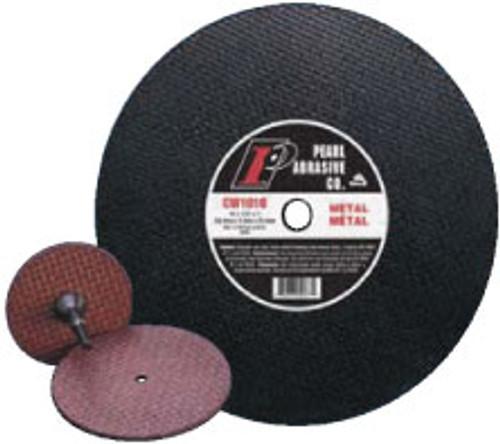 Pearl Abrasive T-I Aluminum Oxide Metal Cut-Off Wheel 4-1/2 x 1/8 x 7/8 CW4520