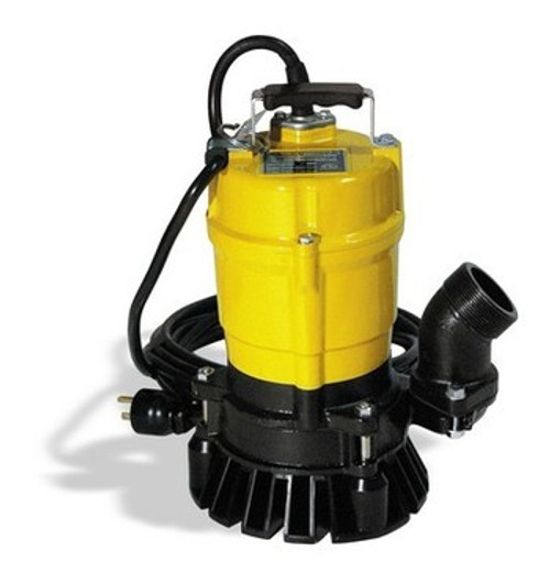 "Wacker Neuson PST2 2"" Single Phase Submersible Pump 1/2 HP 110V/60HZ w/20 ft Cord"
