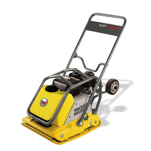 Wacker Neuson WP 1550AW Vibratory Plate Compactor w/Honda Engine and Water Tank 19.5 inch wide Base Plate