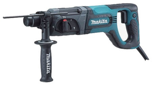 "Makita 1"" SDS-PLUS 3 Mode D-Handle Rotary Hammer HR2475"