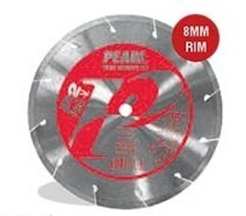 Pearl Abrasive Segmented P2 Pro-V Diamond Blade for Porcelain 4 x .060 x 20mm, 7/8- 5/8 Adapter PV04PT