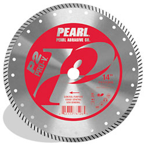 Pearl Abrasive P2 Pro-V High Speed Diamond Turbo Blade 14 x .125 x 20mm PV1412HS2