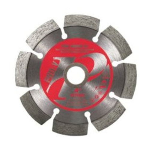 Pearl Abrasive P2 Pro-V Tuck Point Blade 4 1/2 x .250 x 7/8- 5/8 Adapter PVTAK45