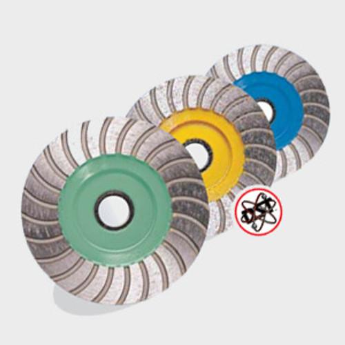 Pearl Abrasive P5 Turbo Cup Wheel for General Purpose 6 x 5/8-11 Coarse PW6CH