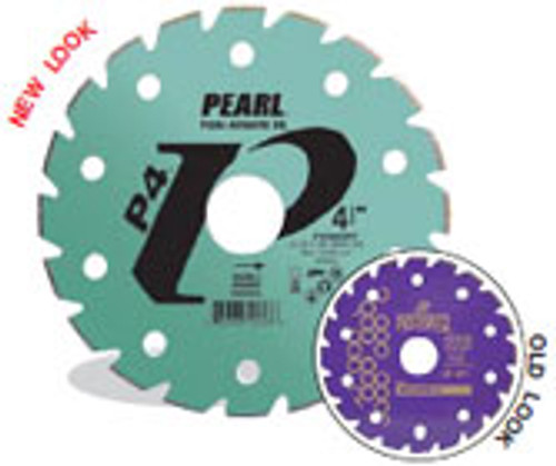 Pearl Abrasive P4 Electroplated Diamond Blade for Marble 7 x DIA- 5/8 Adapter PY007SPF