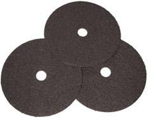 Pearl Abrasive Premium Aluminum Oxide Fiber Disc 25ct Case A100 or A120 Grit 5 x 7/8 FD5100G, FD5120G