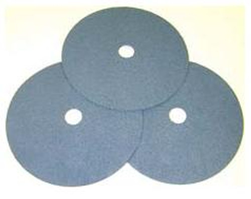 Pearl Abrasive Heavy Duty Zirconia Fiber Disc for Stainless Steel 25ct Case Z24 Grit 4 1/2 x 7/8 FZ4524