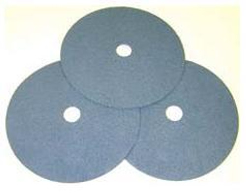 "Pearl Abrasive Heavy Duty Zirconia Fiber Disc for Stainless Steel 25ct Case Z36 Grit 4-1/2"" x 7/8"" FZ4536"