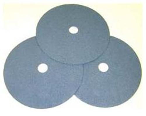 Pearl Abrasive Heavy Duty Zirconia Fiber Disc for Stainless Steel 25ct Case Z60 Grit 7 x 7/8 FZ7060