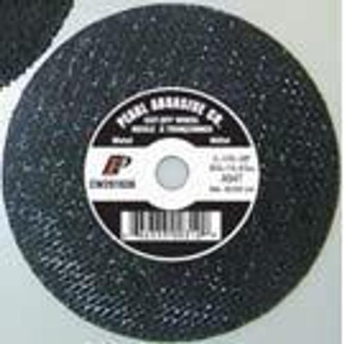 Pearl Abrasive T-1 Premium Aluminum Oxide Small Diameter Cut Off Wheel 25ct Case A46T Grit 4 x 1/8 x 7/8 CW0480