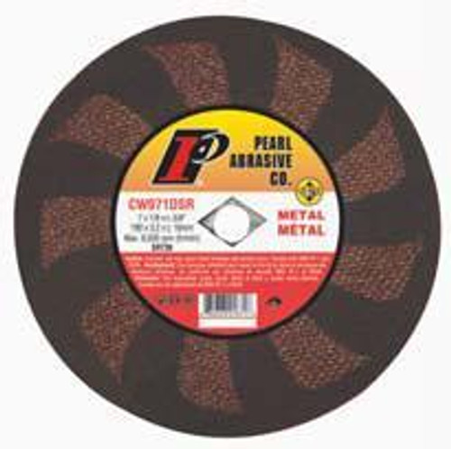 Pearl Abrasive SRT T-1 Contaminant Free Cut Off Wheel for Metal and Stainless Steel 25ct Case SRT60 Grit 4 x 1/32 x 3/8 CW490SRT