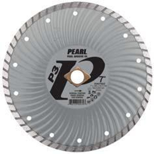 Pearl Abrasive P3 Waved Core Diamond Turbo Blade 4 x .070 x 20mm- 5/8 Adapter DIA04SDZ