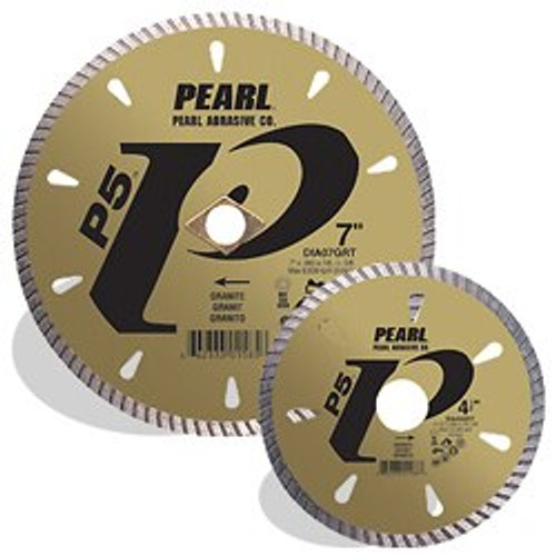 Pearl Abrasive P5 Diamond Blade for Granite 5 x .080 x 7/8- 5/8 Adapter DIA05GRT