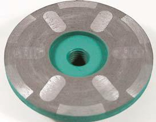 Pearl Abrasive P4 Cup Wheel Dry Shaper for Granite 4 x 5/8-11 Medium DS04MHSPF
