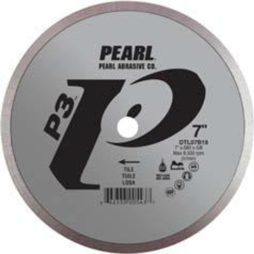 Pearl Abrasive P3 Diamond Blade for Tile 6 x .060 x 5/8 DTL06B19