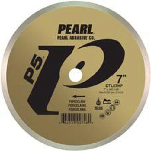 Pearl Abrasive P5 Diamond Blade for Porcelain 8 x .060 x 5/8 DTL08HP