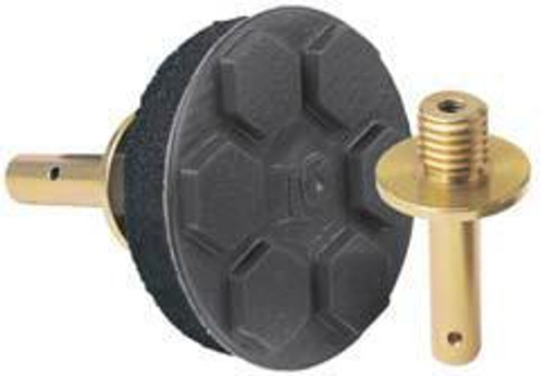 Pearl Abrasive Hexpin Floor Preparation System Backup Pad for Diamond Disc Pads 3 inches HEX1BPD3 (Shown with Hook & Loop Pad and Quick Change attachment, sold separately)