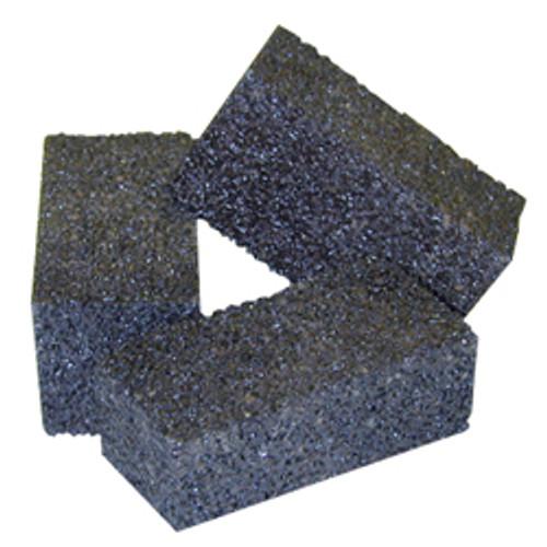 Pearl Abrasive Hexpin Floor Preparation System Hexpin Grinding Stone Attachment Fine, Medium or Coarse C10, C24 or C80 Grit 6 Ct Case 2 x 2 x 4 inches BLK280, BLK224, BLK210