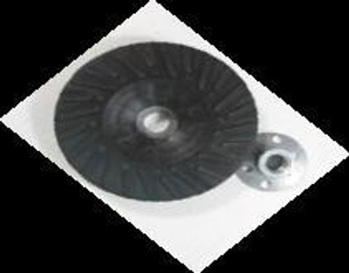 Pearl Abrasive Spiral Faced Backup Pad for Fiber Disc 4 x M10 x 1.25 Center Nut BP0410S