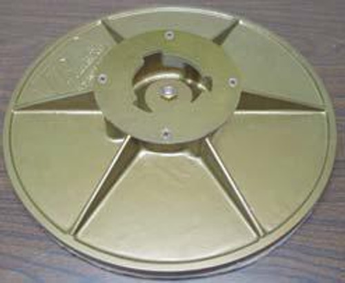 Pearl Abrasive Hexpin Floor Preparation System 16 inch Sanding Plate Attachment BUFSPL16