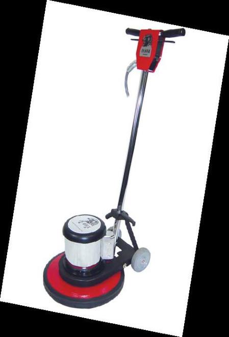 Pearl Abrasive Floor Care Equipment 17 inch Hawk Buffer Heavy Duty Floor Machine 1.5 HP 175 RPM HEX1BFRHK