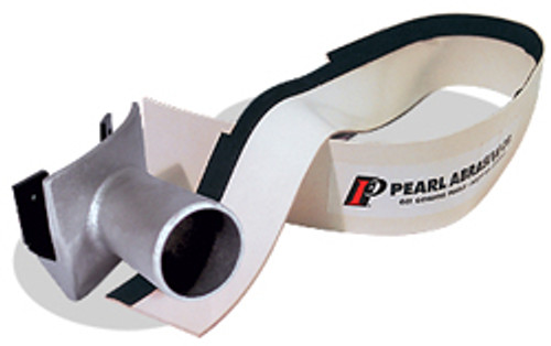 Pearl Abrasive Buf-Vac for 17 inch Buffers w/Hose Port and Rubber Vacuum Shield BUFVAC1
