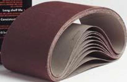 Pearl Abrasive Premium Aluminum Oxide Premium Resin Cloth Belt 10ct Case A36, A40, A50, A60, A80, A100 or A120 Grit 1 1/8 x 21 CB11836, CB11840, CB11850, CB11860, CB11880, CB118100, CB118120