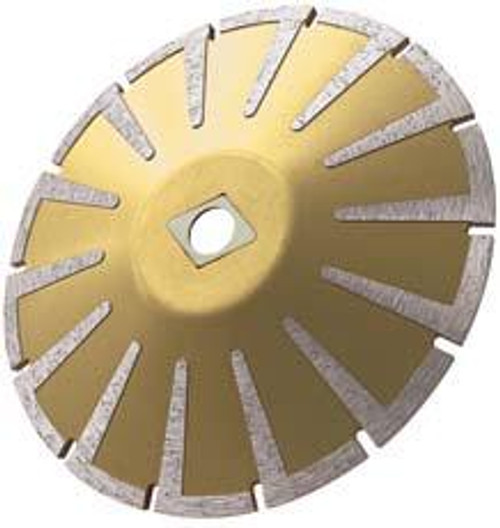Pearl Abrasive P5 Diamond Contour Blade for Granite and Marble 6 x .160 x DIA- 5/8 Adapter LWC06P