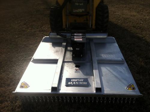 Bushmaster 5' Rotary Cutter Galvanized BM501