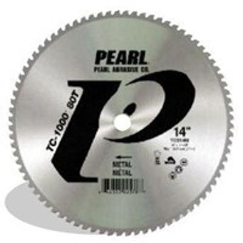 Pearl Abrasives TC-1000 Titanium Carbide Tip Abrasive Blade 80 Teeth 14 x 1 TC014M