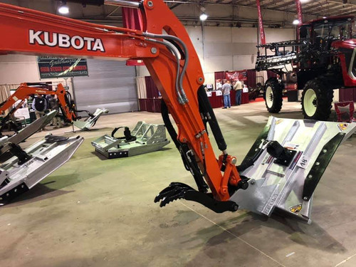 "Bushmaster Mini X 48"" Excavator Attachment works and cuts like a dream machine if you want to experience what a cutter should perform like then buy the  Bushmaster products and get world class service from a company the will sacrifice nothing when it comes to quality  MX401-48SL"