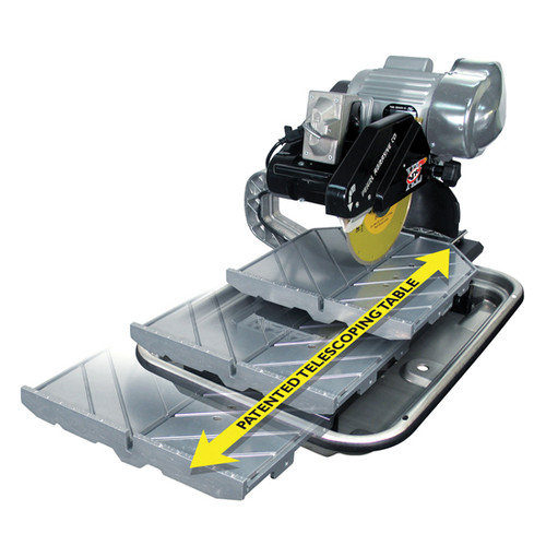 "Pearl Abrasive 10"" Pro Wet Tile Saw & Stand VX10.2XLPRO"