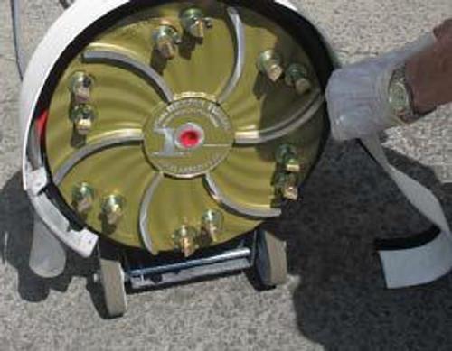 Pearl Abrasive Buf-Vac for 17 inch Buffers Vacuum Hose Port BFVCADP1