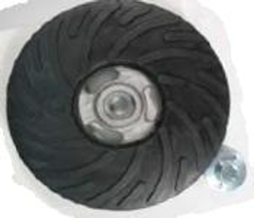 Pearl Abrasive Heavy Duty Backup Pad for Turbo Cut Discs 4-1/2 x 5/8-11 Center nut BPFTC45