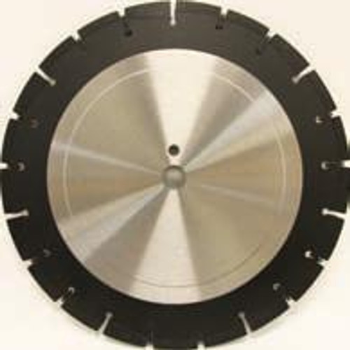 Pearl Abrasive Professional Wet Cutting Asphalt Blade in Medium or Soft Bond 24 x .125 x 1 LW2412APM, LW2412APS
