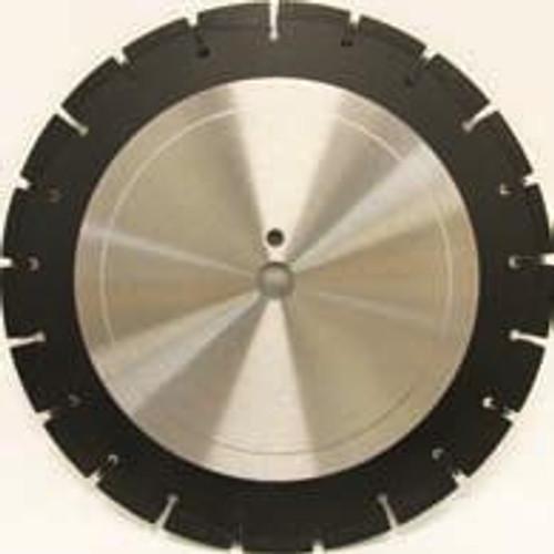 Pearl Abrasive Professional Wet Cutting Asphalt Blade in Medium or Soft Bond 24 x .145 x 1 LW2414APM, LW2414APS