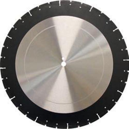 Pearl Abrasive Professional Wet Cutting Asphalt Blade 26 x .155 x 1 LW2615APM
