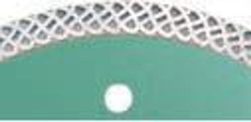 Pearl Abrasive P4 Turbo Mesh Diamond Blade for Porcelain and Granite 7 x .055 x 7/8, dia, 5/8 DIA07TT