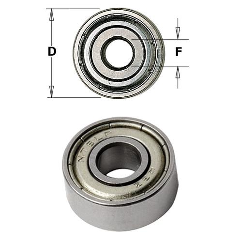 CMT Orange Tools Bearing 5/8 x 1/4 x 5mm 791.009.00